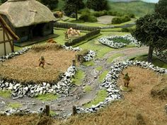 Wargaming with Silver Whistle: Medieval Terrain for War of the Roses game Game Boards, Board Games, Bolt Action Miniatures, Chain Of Command, Medieval Houses, Wars Of The Roses, Day Off, Decoration, Vignettes