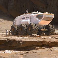 Settling by florent lebrun on ArtStation. Systems Art, Starship Concept, Tecno, Futuristic Cars, Science Fiction Art, Landscape Illustration, Space Travel, Space Exploration, Sci Fi Fantasy