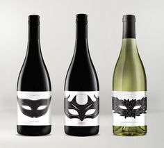 Packaging of the World: Creative Package Design Archive and Gallery: Wildfire Restaurant Wines Cool Packaging, Bottle Packaging, Brand Packaging, Packaging Design, Wine Label Design, Bottle Design, Types Of Wine, Fine Wine, Perfume