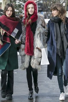 New York Fashion Week street style. [Photo by Ryan Kibler]  #streetstyle #style #fashion