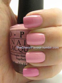 Comparison: OPI Pink Friday