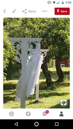 Laundry, Outdoor Structures, House Styles, Garden, Outdoor Decor, Laundry Room, Garten, Laundry Service, Lawn And Garden
