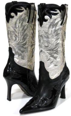 Stiletto Cowboy boots - yum!