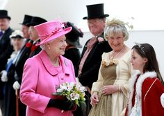 Queen Elizabeth II Photo - The Queen Visits the The Venue Cymru Arena