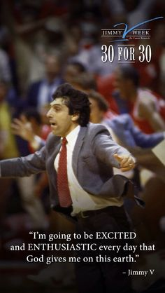 Jim Valvano, Boston Marathon, Sports Figures, Give It To Me, Cancer, Inspirational Quotes, Success, College Basketball, God