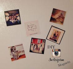Emma Courtney: DIY Instagram Magnets