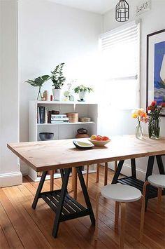 Decoração: Mesa de cavalete | Just Lia