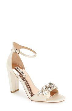 Badgley Mischka 'Lennox' Evening Sandal (Women)