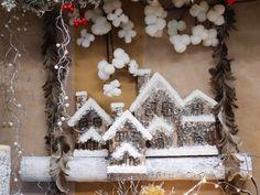 Idee creative per vetrine e allestimenti natalizi. Online accessori per decorazioni e addobbi di natale. Clicca e scopri tutte le idee