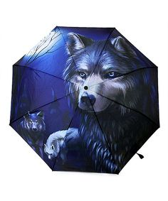 Take a look at this Wolf Folding Umbrella today!