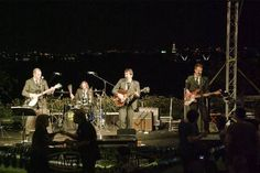 "The band ""Lucy in the Sky"" performs a variety of Beatles favorites at the Terrace at the Gaylord National Resort."
