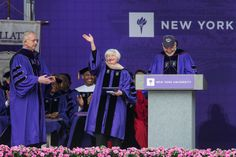 Important lesson from Janet Yellen to NYU2014 grads: You won't succeed all the time, but if you have grit you can push through the setbacks