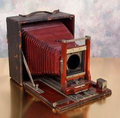 Conley XV 5x7 Long Focus Rotating Back Folding Camera for Parts or Repair | eBay
