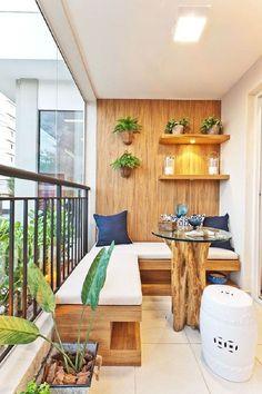 Inspirational platzsparende moebel kleinen balkon gestalten sitzbank stauraum nach mass