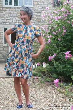 The Day Dress by the Avid Seamstress