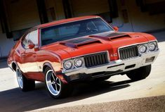 Old Muscle Cars, American Muscle Cars, Rat Rods, Cadillac, Oldsmobile 442, Old School Cars, Old School Muscle Cars, Mustang Cobra, Us Cars