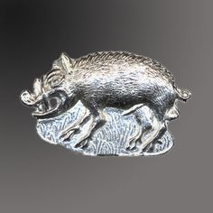 Pilgrim Shop - Walsingham - History and Heritage - Livery and Secular Badges - Wild Boar Medieval Badge