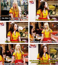 And my favorite body part ~  2 Broke Girls Quotes ~ Season 2, Episode  2 ~ And the Pearl Necklace