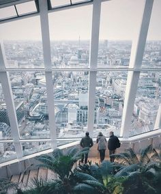 """""""The Sky Garden, one of London's musts, by @joshua_london . One of the best pictures of this fabolous site that we have seen. Great job! #skygarden…"""""""