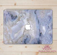 Ocean Blue Marble. MacBook Skin. Laptop Skin. by MacBookCasesandCo