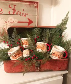 Patty Herron on We need a little Christmas, right this very minute While thruout the year, my decor is mostly neutral, I cant resist pops of red at Christmas Booth, Christmas Kitchen, Christmas Love, Winter Christmas, Christmas Wreaths, Christmas Ideas, Christmas Displays, Xmas, Outdoor Christmas
