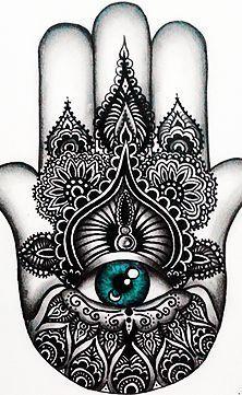 Eye tattoo meaning hamsa hand Super ideas - Evil eye Tattoo Hand Tattoos, Rihanna Hand Tattoo, Fatima Hand Tattoo, Rose Hand Tattoo, Lotus Tattoo, Hand Of Fatima, Mandala Tattoo, Flower Tattoos, Cool Tattoos