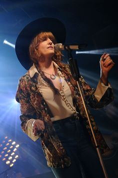 Florence Welch and the Machine, performed for a thrilled crowd before a Q&A session at the band's iHeartRadio LIVE concert in New York City on June 3, 2015.