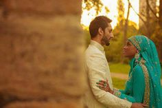 #interracial Muslim Couple @THINTE  Ooh....interesting couple. Reminds me of ancient world like Babylon era of forbidden love
