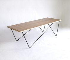 Wood Plane - Metal Leg