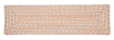 Catalina Indoor Outdoor Braided Rectangle Stair Tread, CA39 Sun-Soaked