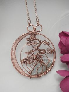 tree of life pendants - Google Searchreally cool variation on tree of life.. meets bonsai