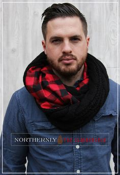 The Lumberjack - Man Scarf