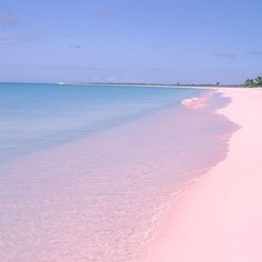 I'd love to go some day<3 #pinksandbeach #eleuthera #bahamas