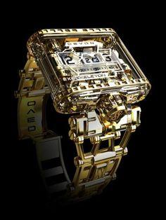 Unique Transparent Mechanical Watch