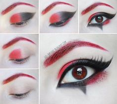 Check out  -- Harley Quinn Makeup Tutorial