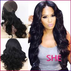 Find More Synthetic Wigs Information about FREE SHIPPING Fashion Hot Selling Natural Wave Natural Black Heat Resistant Hair Synthetic Lace Front Wigs hot synthetic wig,High Quality Synthetic Wigs from SHE Lady House on Aliexpress.com