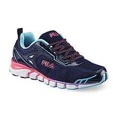 c1c0631dd7 Fila Women s Mechanic 3 Energized Navy Pink Purple Running Shoe Fila  Running Shoes
