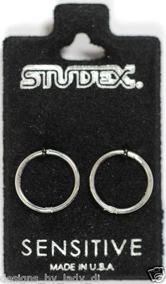 Studex Sensitive White Faux Pearl Ball Gold Plated Stud Hypoallergenic Earrings