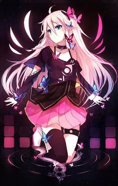 Prettiest vocaloid, imo. This is why I should never cosplay her, but I had to put her on the list!