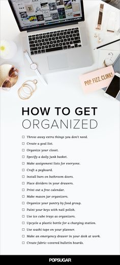 Pin for Later: 17 Goals For a More Organized Life