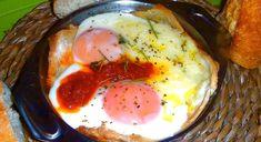 Les receptes que m'agraden: Ous al plat - Huevos al plato