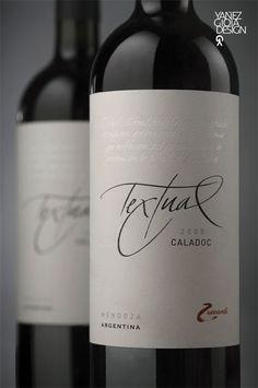 Before & After:Textual - The Dieline - #taninotanino #vinosmaximum