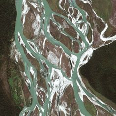 In honor of Earth Day: This satellite image shows a portion of the D. Ering Wildlife Sanctuary located about 7.5 miles north of Tinsukia, Assam, India. The sanctuary consists of a series of islands in the Siang River that are home to endangered animals and many migratory birds. The GeoEye-1 satellite collected this image on March 17.