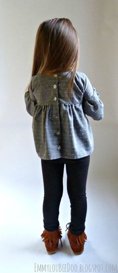 Pretty much what every outfit Chloé wears looks like. So cute and simple. #Loveit #Mayneedtogetthisshirt