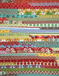 jelly roll quilt with deer valley by SUPPOSE - create - delight, via Flickr