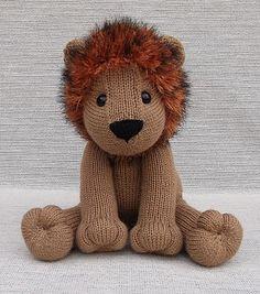 Ravelry: Lovable Lion pattern by Lorraine Pistorio