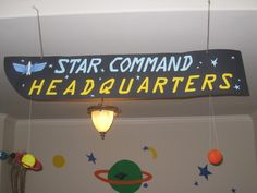 The Party Wall: Toy Story Party Star Command Headquarters