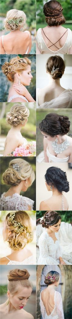 30 Fabulous Most Pinned Updos for Wedding (with Tutorial) - Page 2 of 2 - Deer Pearl Flowers