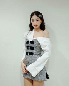 My name is Jennie! Kim Jennie, Jenny Kim, Blackpink Fashion, Korean Fashion, Fashion Outfits, Kim Jisoo, Kpop Outfits, Kpop Girls, Korean Girl