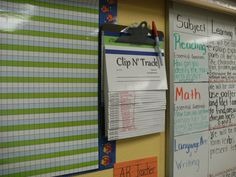 This is cool--Clip N' Track. You just attach it to any clipboard and flip to a student's card to document behavioral issues, interventions, etc.